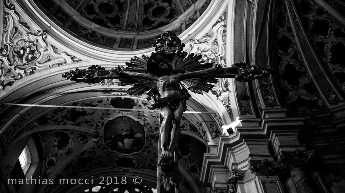 croce chiesa villa pasquali sabbioneta